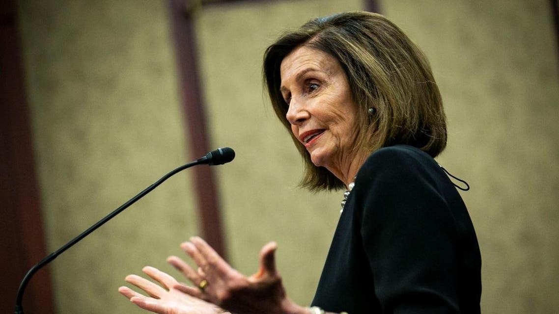 U.S. House Speaker Nancy Pelosi (D-CA) speaks during a news conference on lowering drug costs. (Reuters)