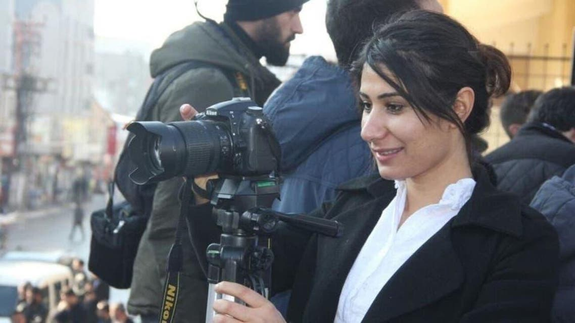 Kurd female Journalist
