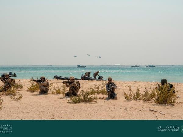 """اختتام مناورات تمرين """"البحر الأحمر 2"""" في جدة"""