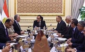 اللجنة العليا لمياه النيل خلال اجتماع برئاسة رئيس الوزراء