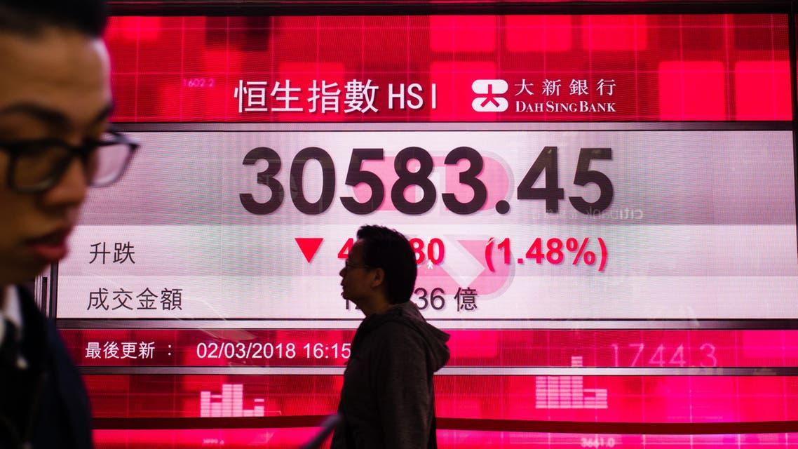 hong kong stocks (AFP