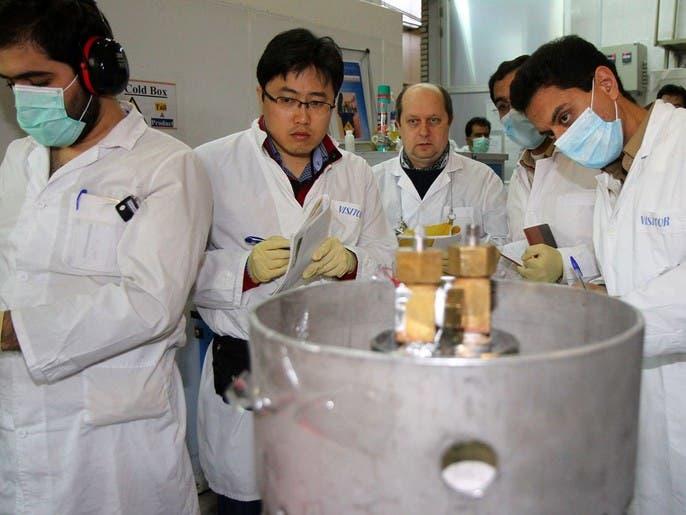 بيان ثلاثي أوروبي يطالب إيران بالتوقف عن إنتاج أجهزة الطرد