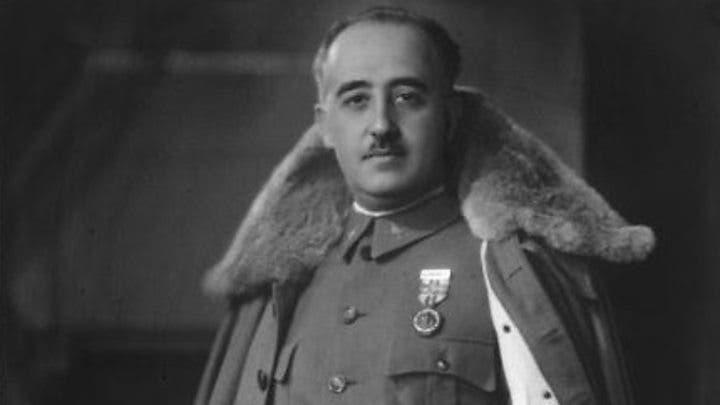 صورة للدكتاتور الإسباني فرانسيسكو فرانكو