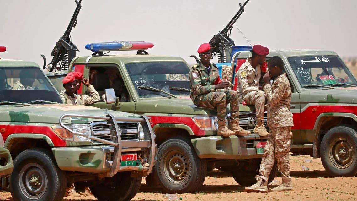 عناصر من قوات الدعم السريع عند الحدود السودانية (أرشيفية- فرانس برس)
