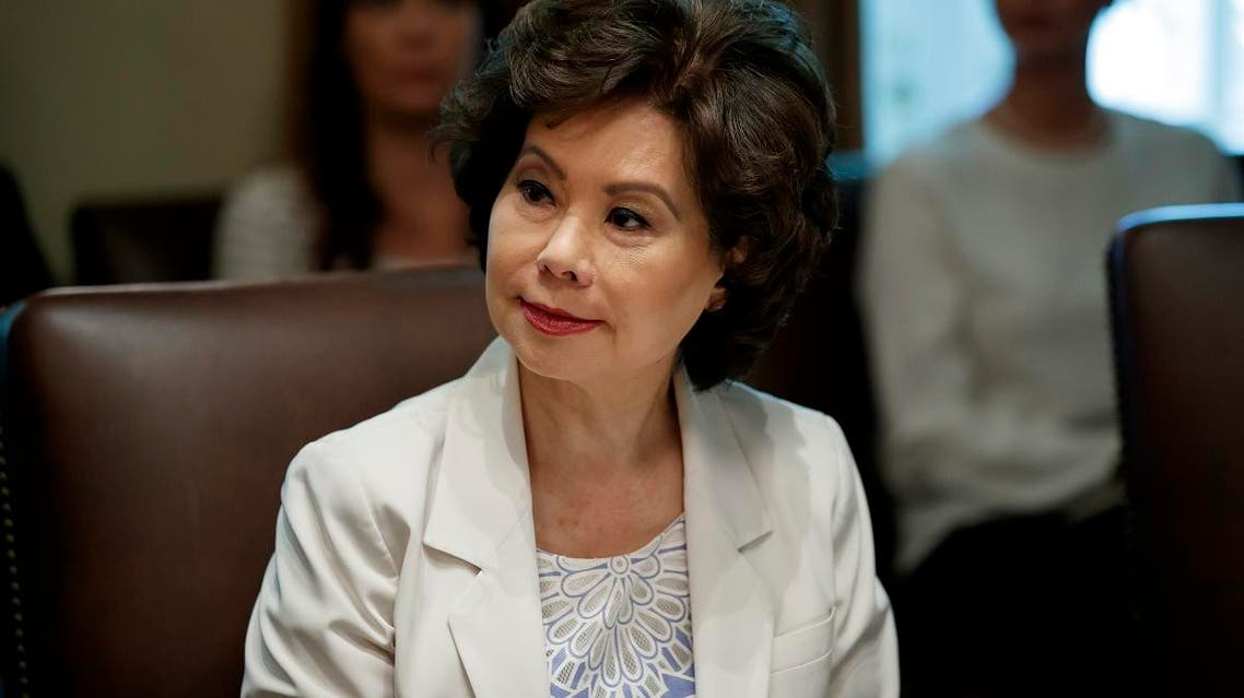 File photo of US Transportation Secretary Elaine Chao. (AP)