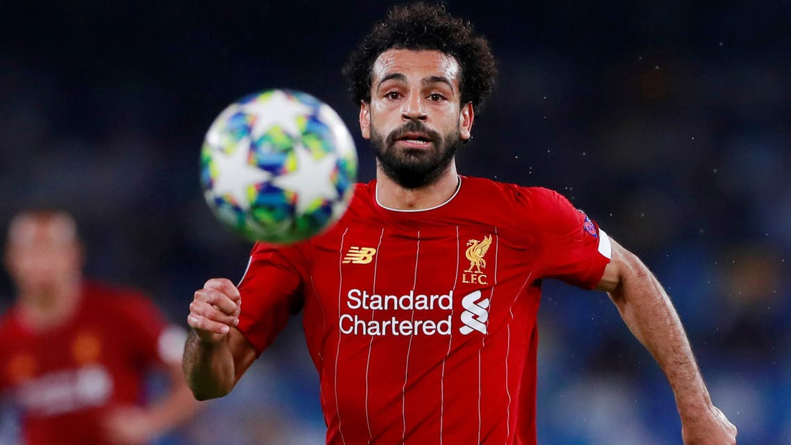 FILE PHOTO: Soccer Football - Champions League - Group E - Napoli v Liverpool - Stadio San Paolo, Naples, Italy - September 17, 2019 Liverpool's Mohamed Salah in action Action Images via Reuters/Andrew Couldridge/File Photo