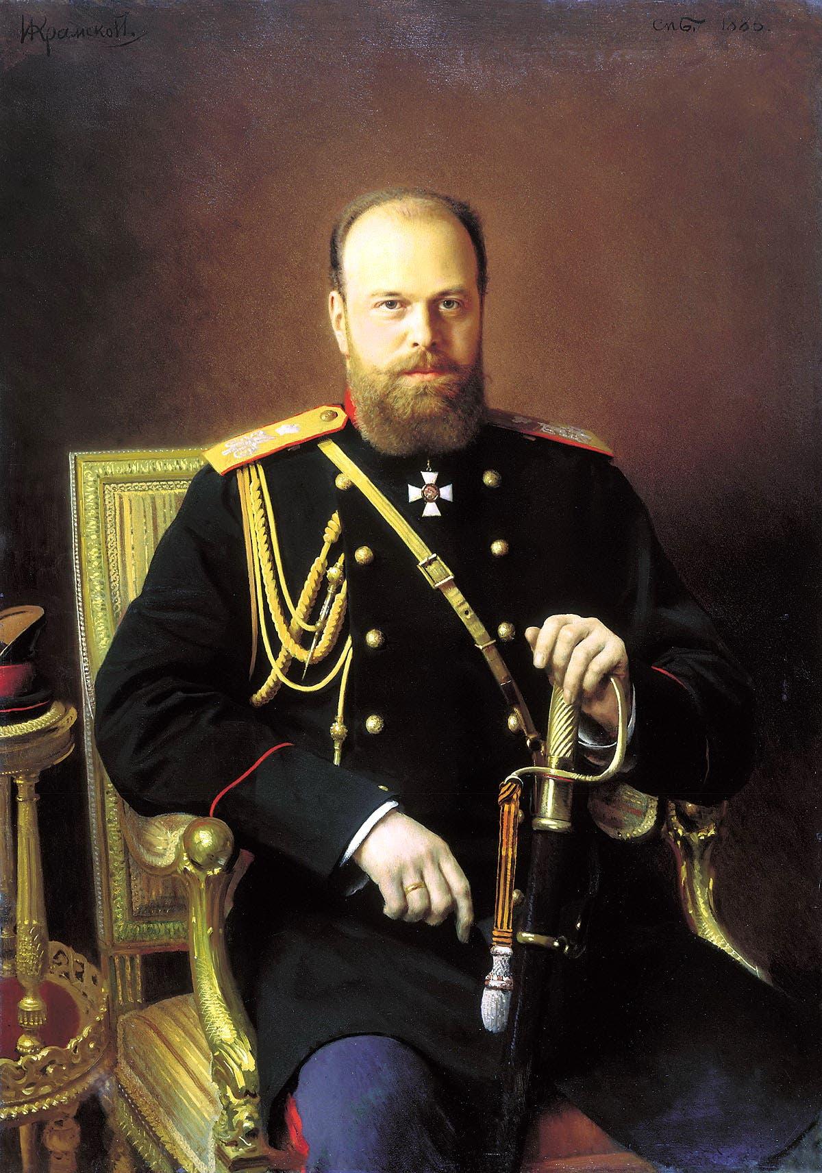 القيصر الروسي ألكسندر الثالث