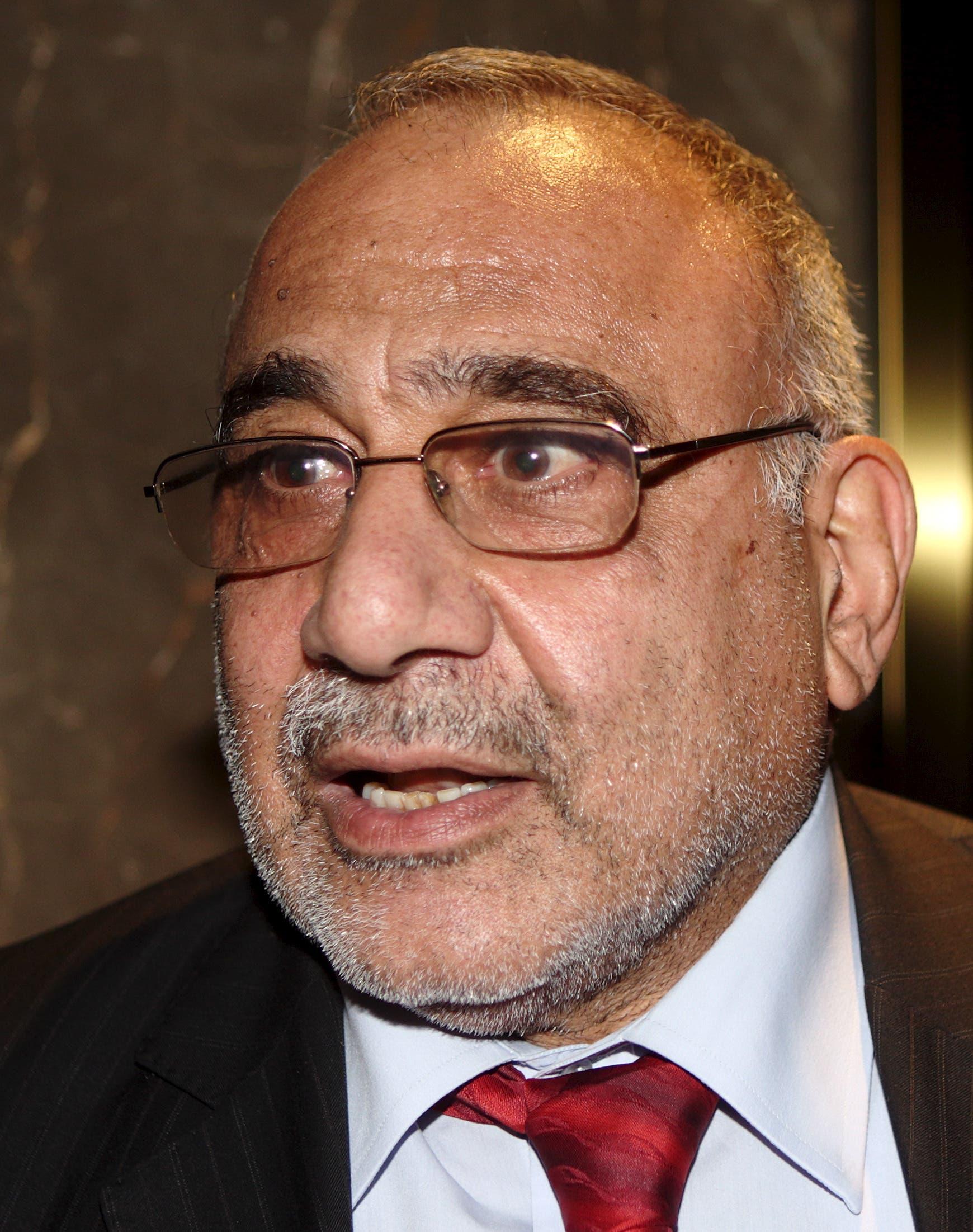 رئيس الحكومة العراقية عادل عبدالمهدي