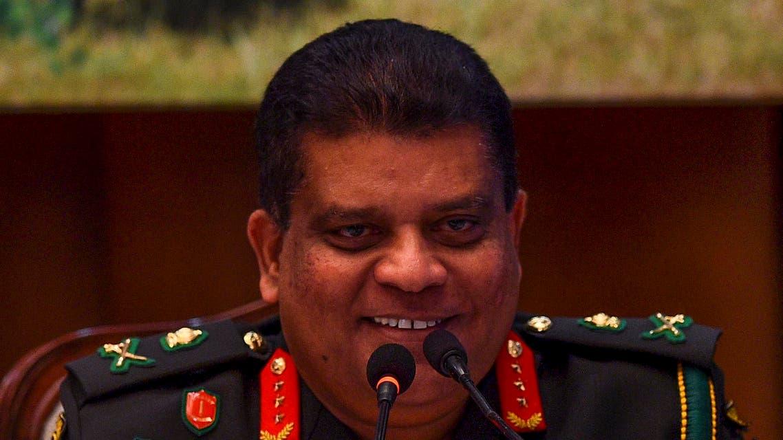 Sri Lanka general Shavendra Silva - AFP