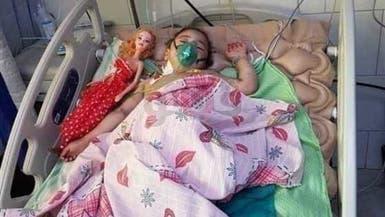 وفاة طفلة تعرضت لتعذيب وحرق وبتر ساقها على يد جدتها
