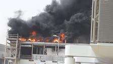 الدفاع المدني يوضح حقيقة حريق مترو الرياض