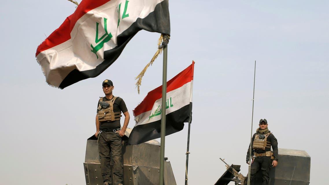 عنصران من القوات الخاصة العراقية