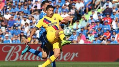 برشلونة يعلن جاهزية سواريز لخوض المباريات
