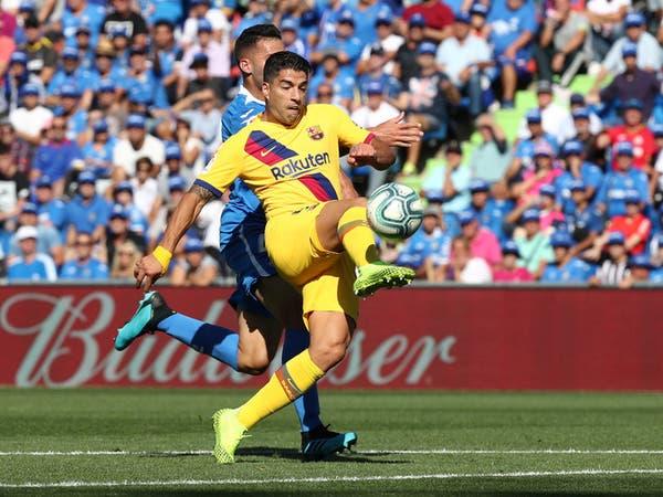 """برشلونة يجتاز خيتافي ويتقدم إلى المركز الثاني """"مؤقتا"""""""