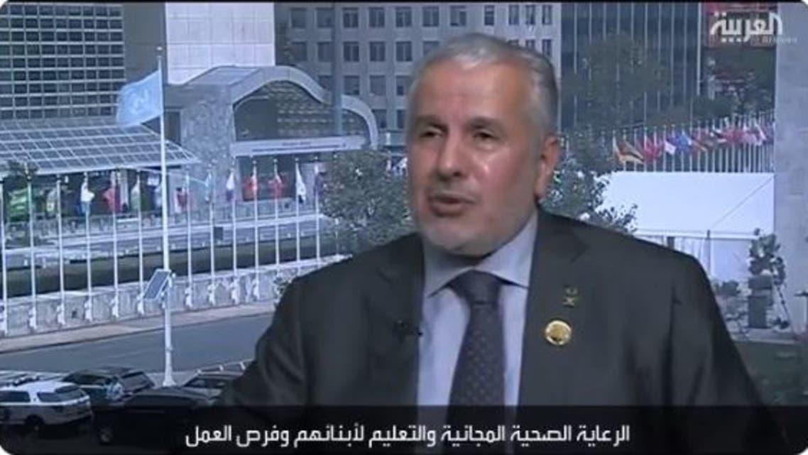 عبدالله الربيعة، المشرف العام على مركز الملك سلمان للإغاثة