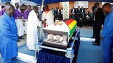 Zimbabwe's ex-president Mugabe buried in rural village