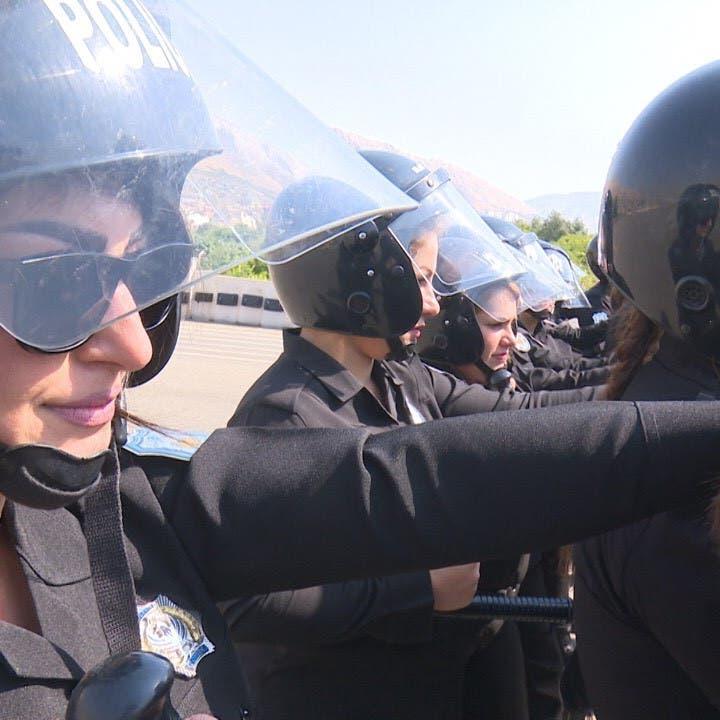 بالصور.. قوة نسائية لحماية النشاطات المدنية في كردستان