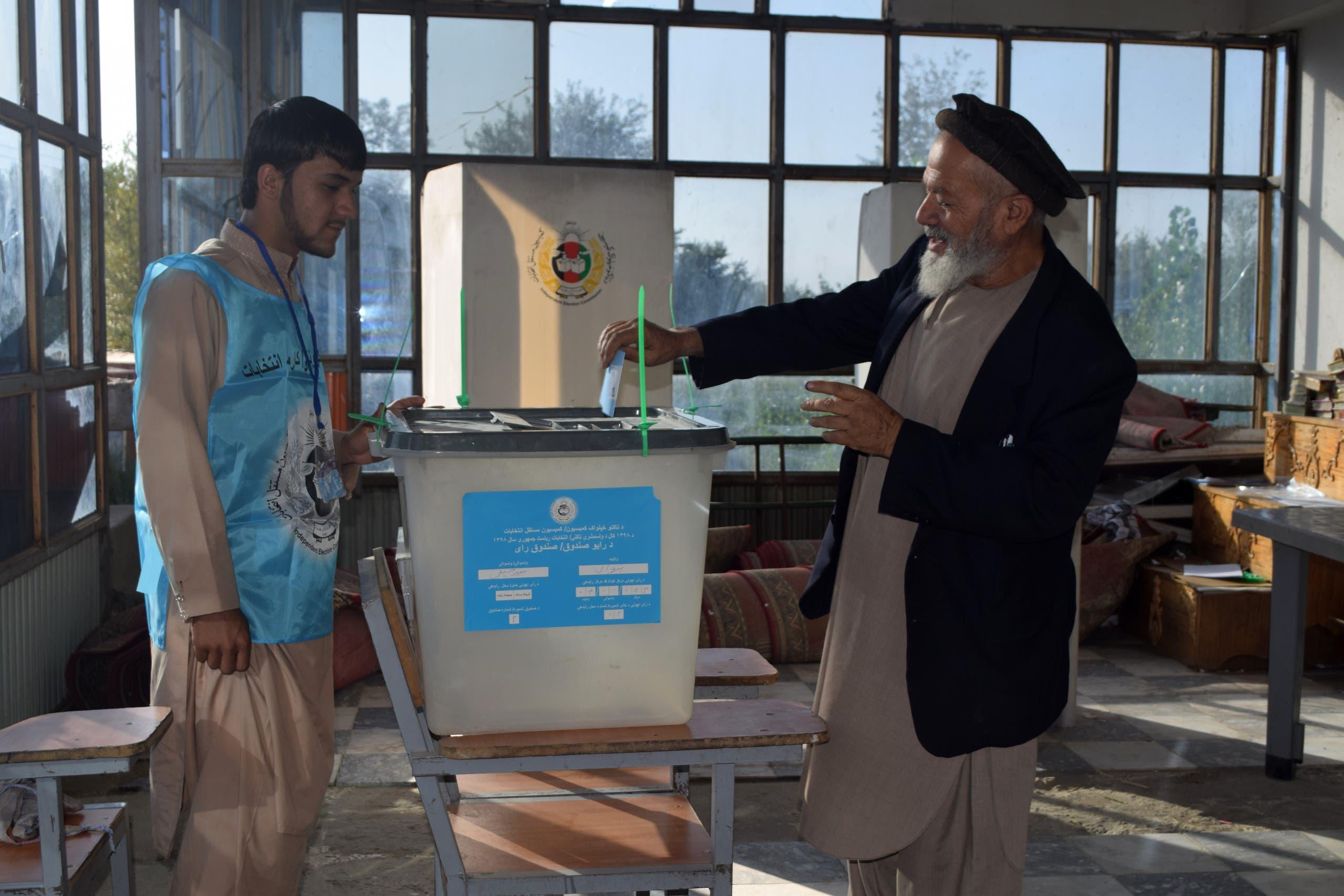 مركز اقتراع في ولاية بروان