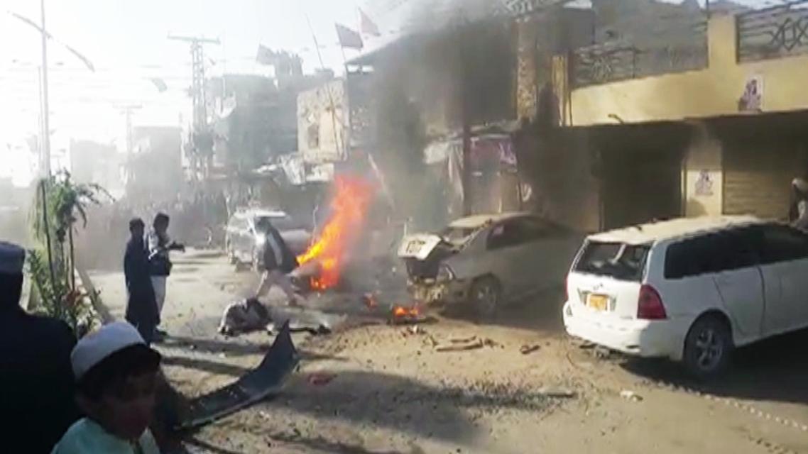 Pakistan Chaman Blast