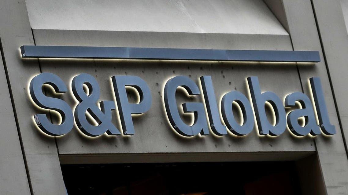 FILE PHOTO: The S&P Global logo is displayed on its offices in the financial district in New York City. (File photo: Reuters)
