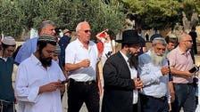 شاهد.. وزير إسرائيلي يقود المستوطنين لاقتحام الأقصى