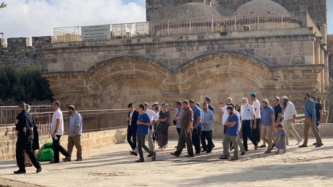 masjid aqsa attacked by Jews