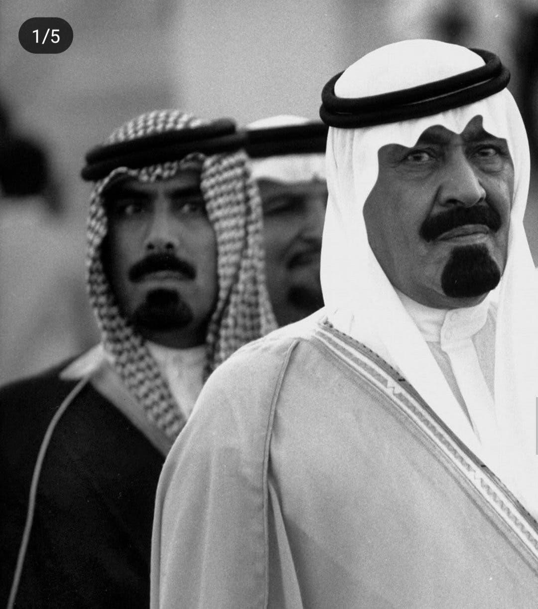 الفغم أثناء حراسة الملك الراحل عبد الله بن عبد العزيز
