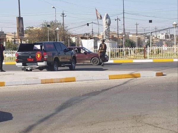 بعد البلبلة.. تمثال الساعدي يختفي من الموصل