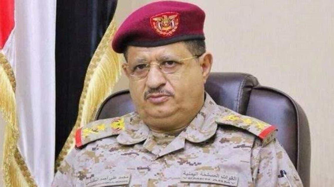 وزير الدفاع اليمني محمد المقدشي