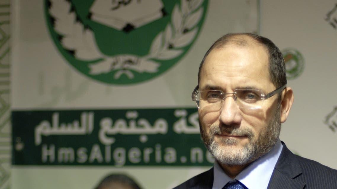 عبد الرزاق مقري رئيس حمس (أرشيفية)