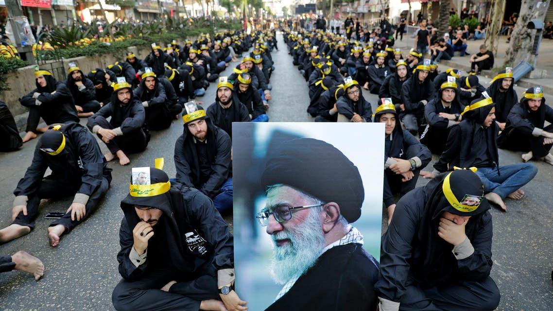 حزب الله خلال احياء عاشوراء