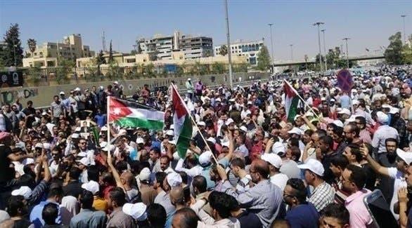 اضراب المعلمين في الأردن