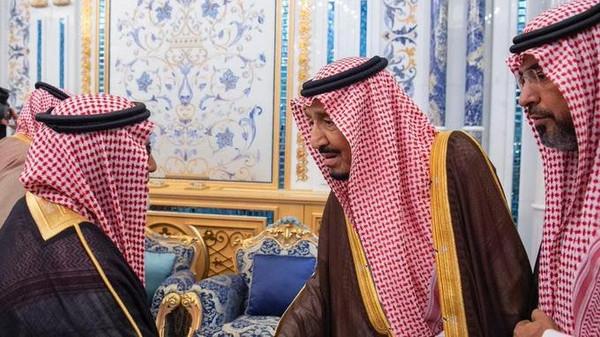 شاہ سلمان کی مقتول جنرل الفغم کے اہل خانہ سے ملاقات اور اظہار ہمدردی