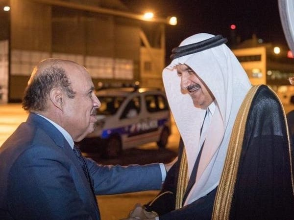 الأمير منصور بن متعب يشارك بمراسم تشييع جاك شيراك