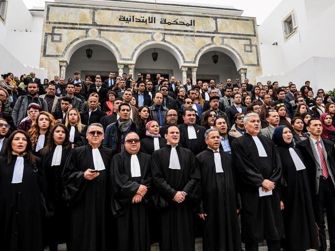 تونس.. القضاة يستأنفون عملهم اليوم بعد إضراب لـ10 أيام
