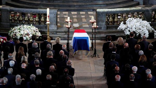 بالصور.. جنازة رسمية لشيراك بحضور 30 من قادة العالم