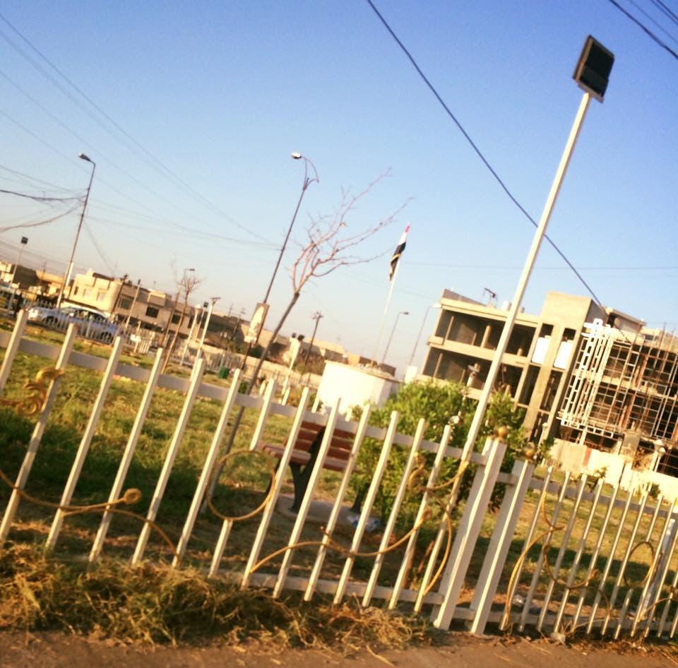 تمثال الساعدي يختفي من الموصل