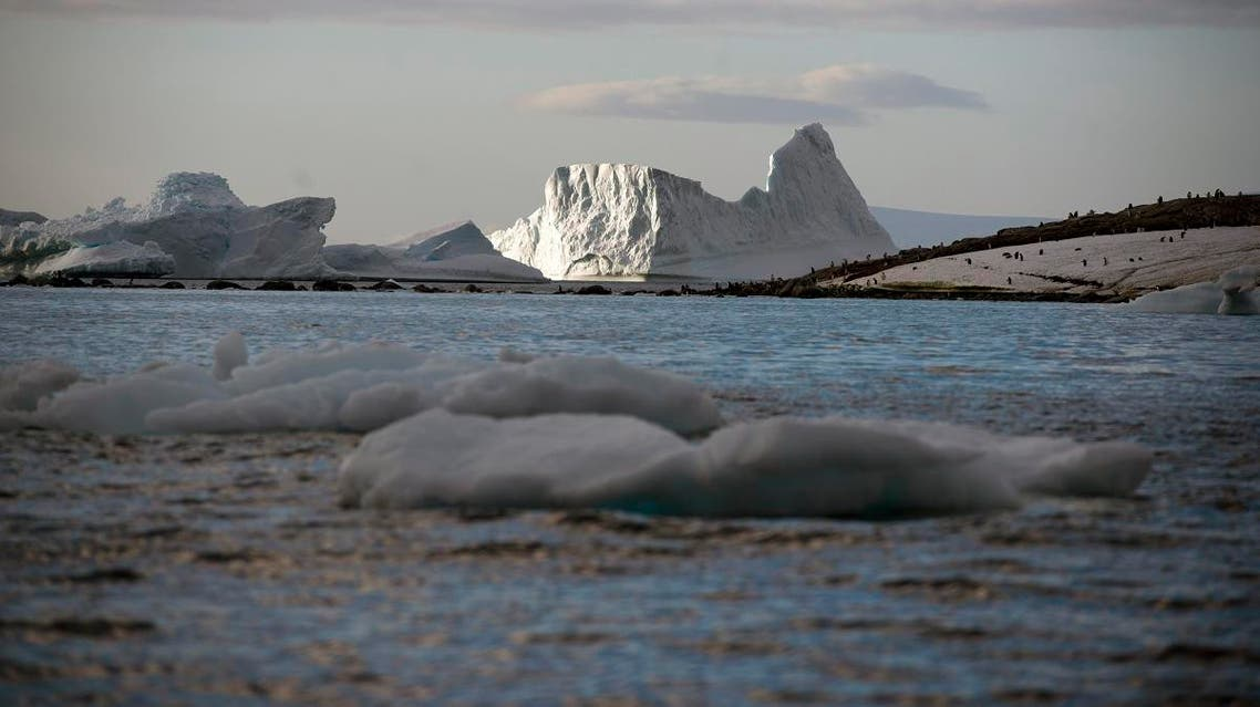 File photo of an iceberg in the western Antarctic peninsula. (AFP)