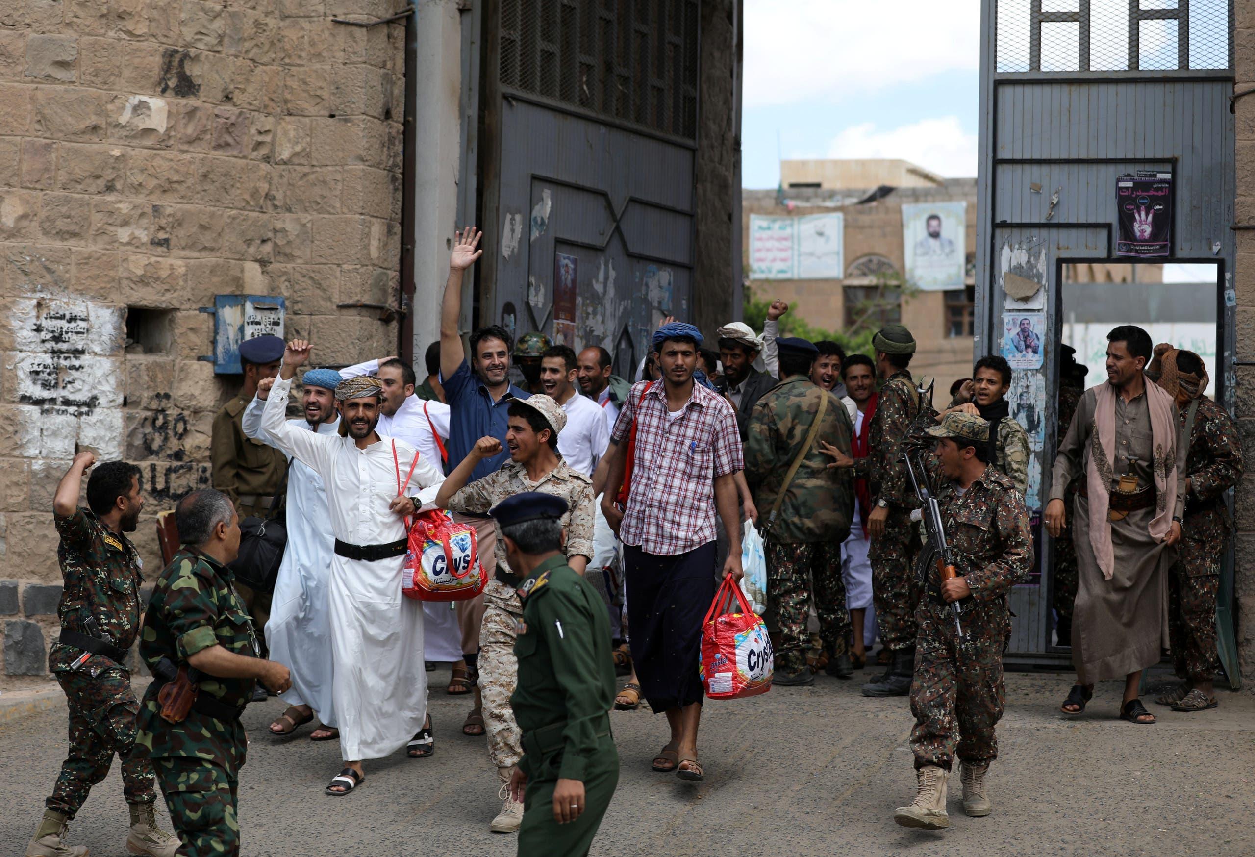 إطلاق سراح سجناء في صنعاء(أرشيفية)