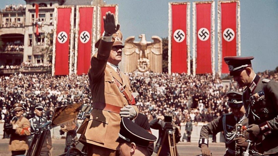 صورة لأحد الإستعراضات النازية بألمانيا