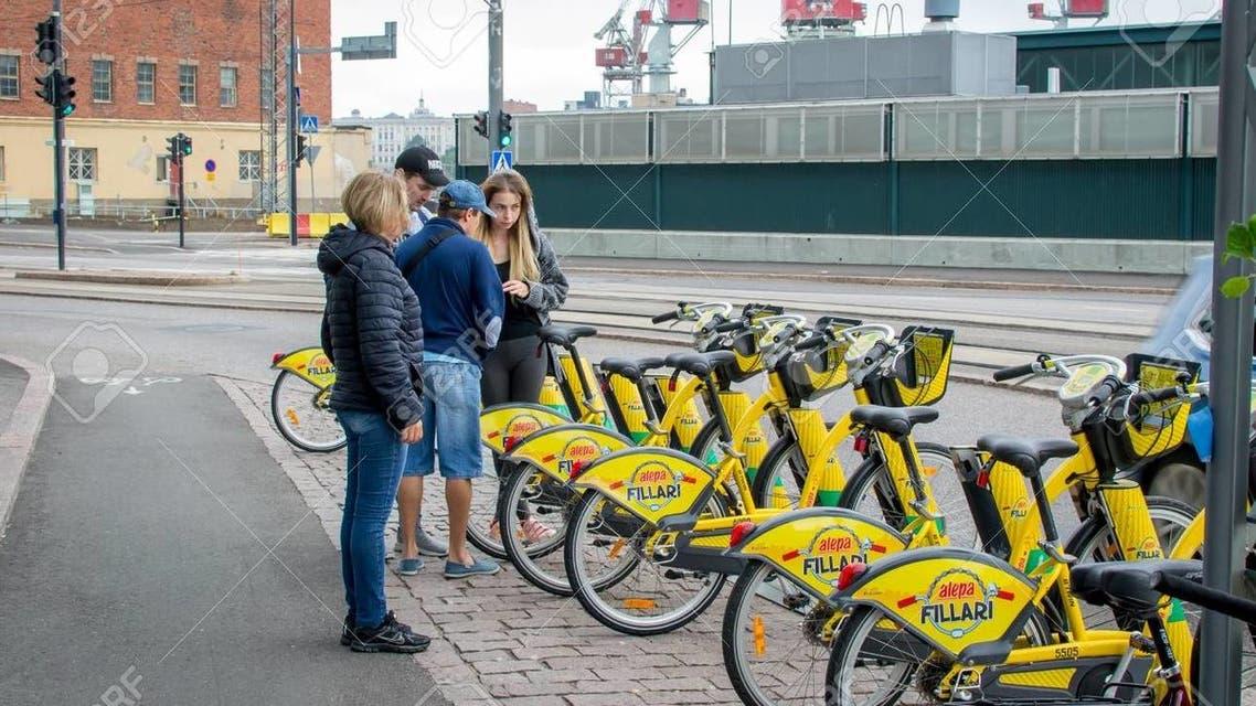 دراجات هوائية في هلسنكي