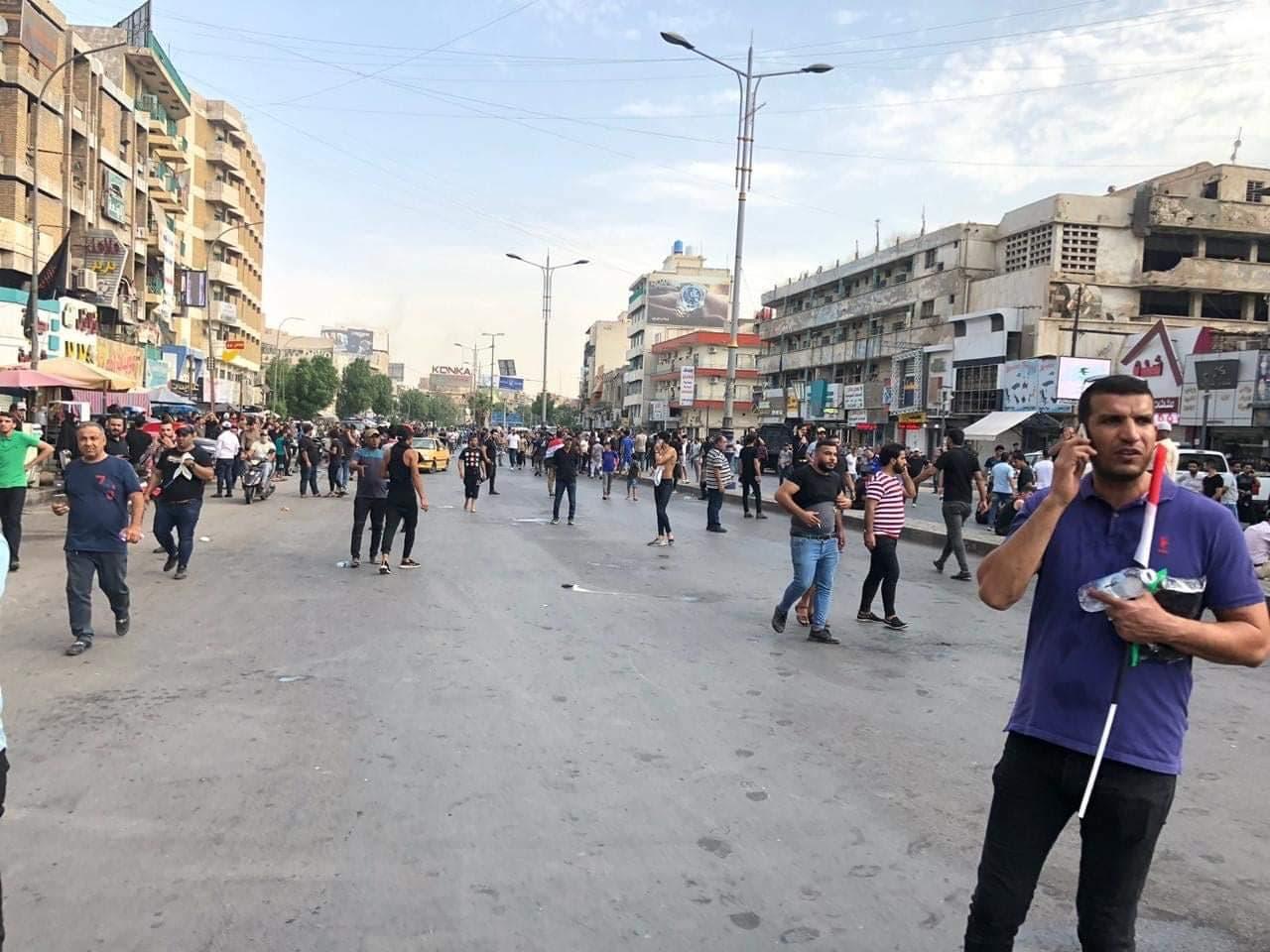 تظاهرات في بغداد