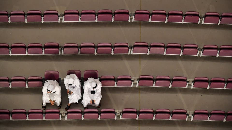حضور جماهيري ضعيف في بطولة قطر لألعاب القوى