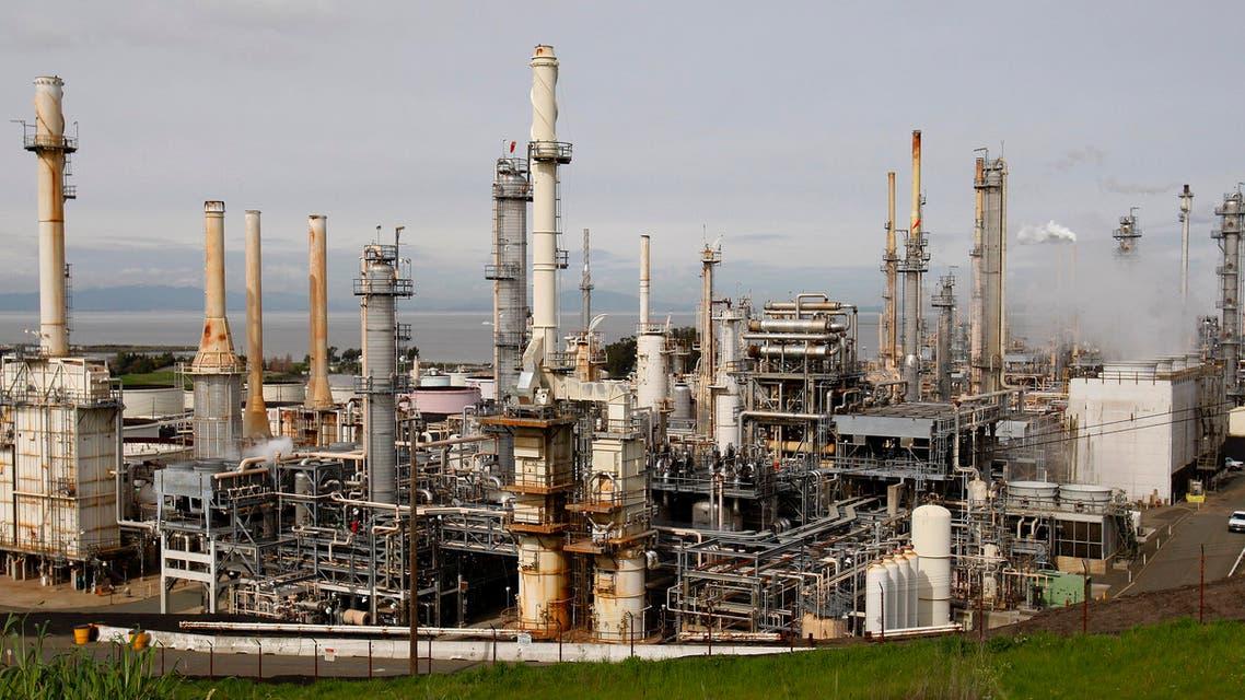 oil refinery (AP)