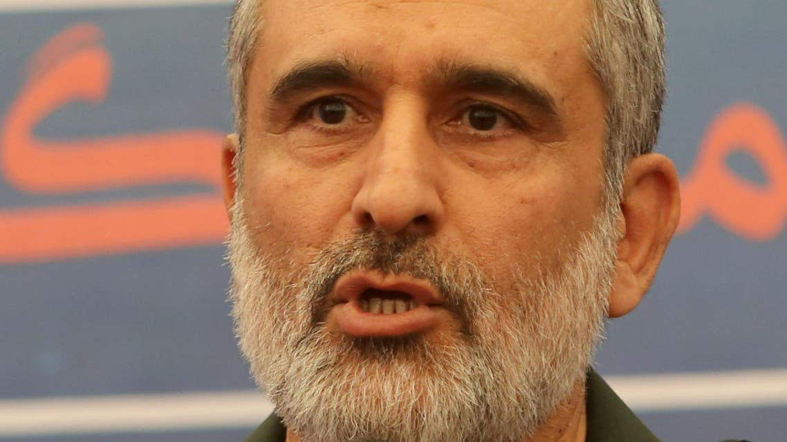 IRGC airforce commander Aeroforce General Amir Ali Hajizadeh - Reuters