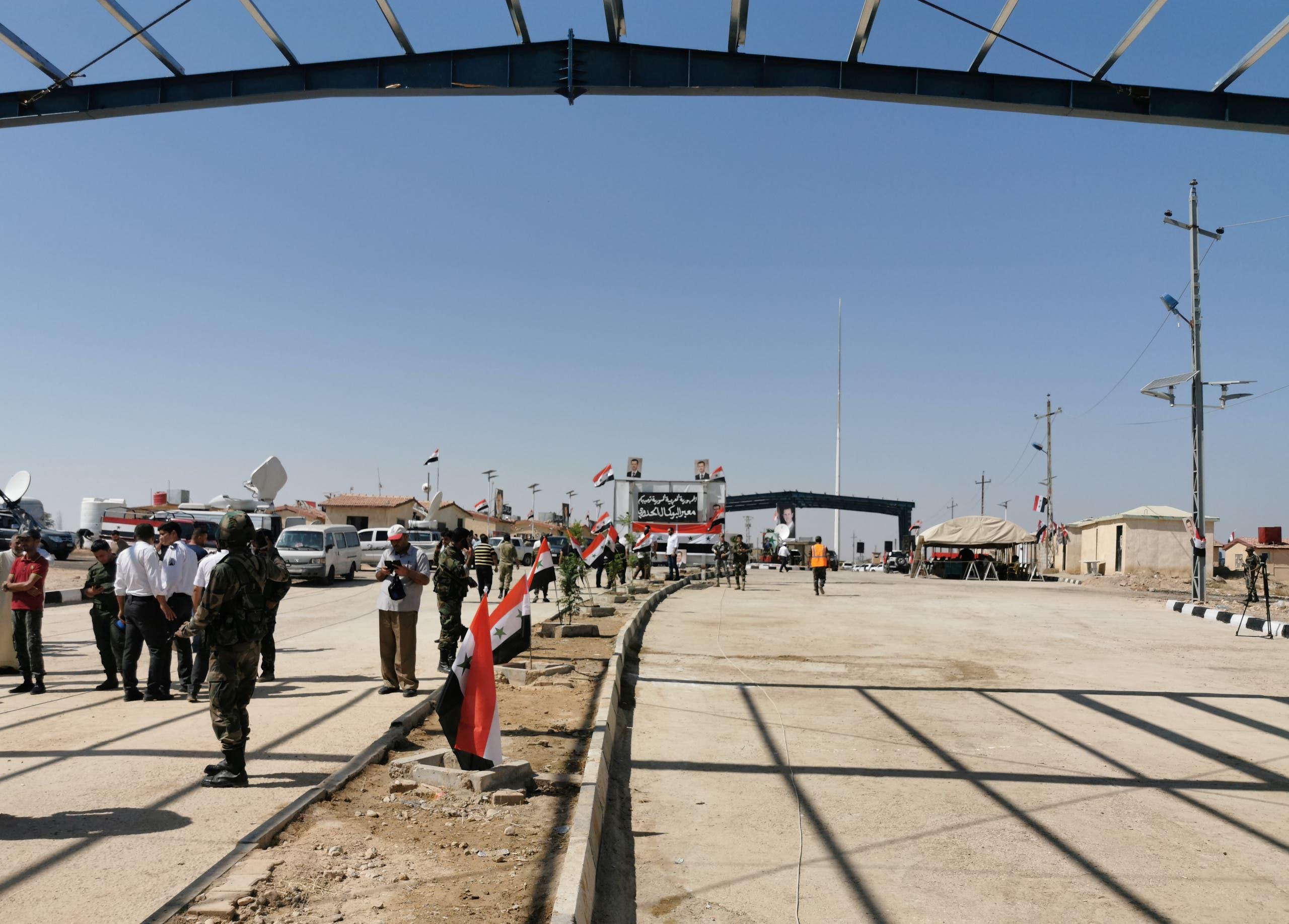 معبر القائم الحدودي بين العراق وسوريا