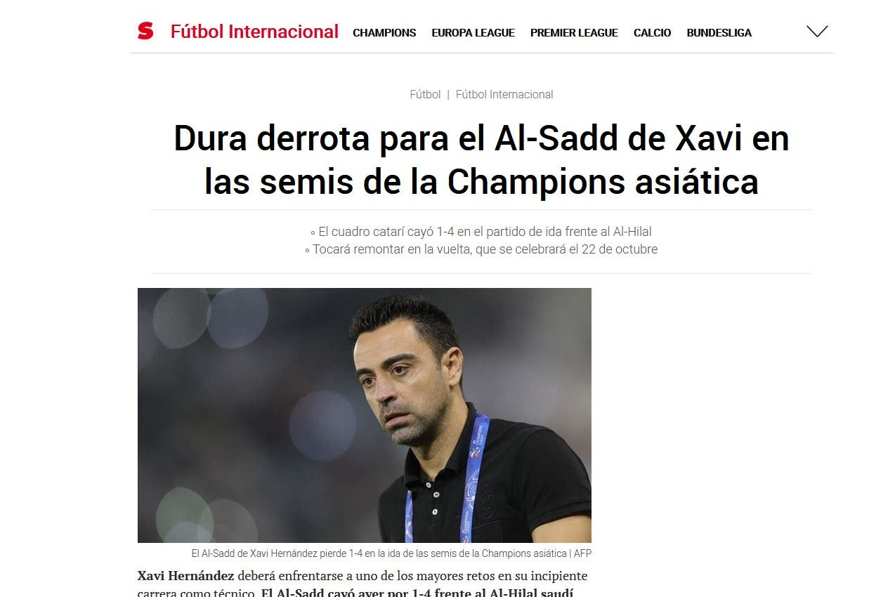 """صحيفة """"سبورتس 3"""" الكاتالونية"""