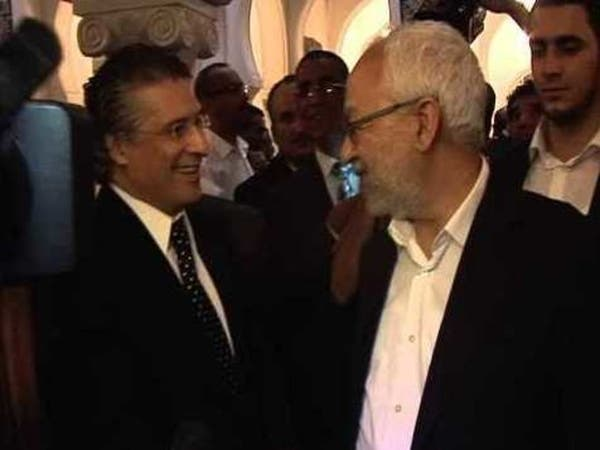 القروي للغنوشي: حزبكم خطر على تونس.. لن أتحالف معه