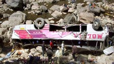 At least 17 killed as bus plunges off cliff in Peru