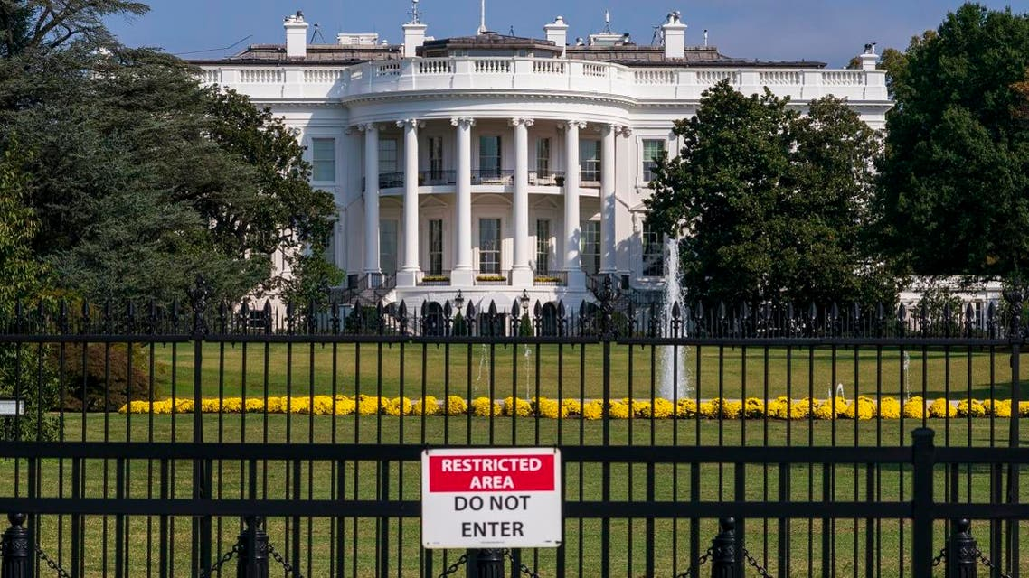 The White House is seen in Washington, Tuesday, Oct. 1, 2019. (AP)